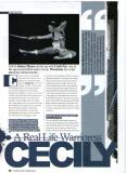 Cecily Fay feature in MAI magazine( Martial arts Illustrated)